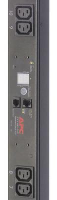 Блок распределения питания APC Rack PDU Metered ZeroU 10A 230V (16) C13 out C14 in AP7850