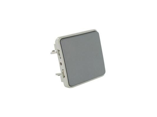Переключатель Legrand Plexo 10А серый 69511