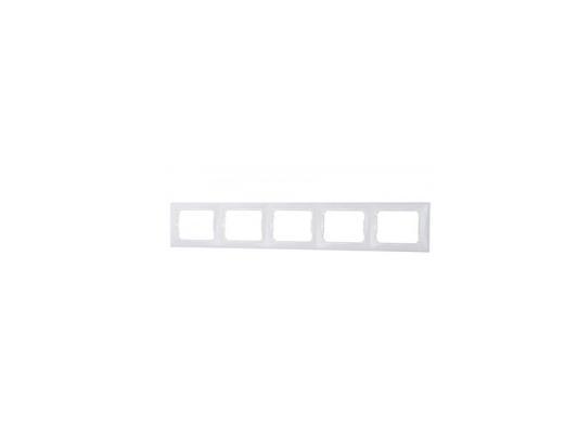 Рамка Legrand Valena пятиместная белая 774455