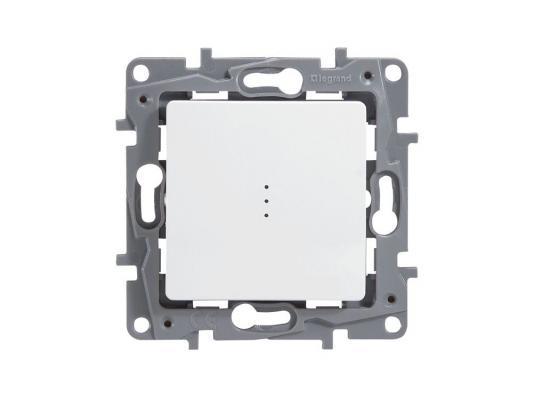 Выключатель Legrand ETIKA 10АХ с подсветкой на винтах белый 672303