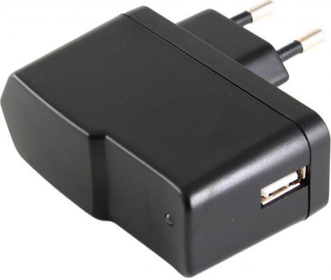 Сетевое зарядное устройство Gembird MP3A-UC-AC1-B 1A черный