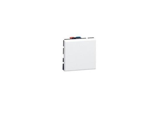 Переключатель Legrand Mosaic 1 модуля 10АХ на 2 направления 77011 суппорт legrand mosaic на 2 модуля белый 10922