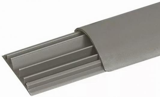 Напольный кабель-канал Legrand 4 секции 92x20 2м 32800 серый плинтус legrand напольный 41х10мм 2м цвет антракцит 30092