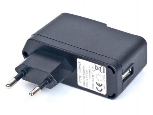 Адаптер питания Gembird 220V-5V USB черный MP3A-UC-AC5