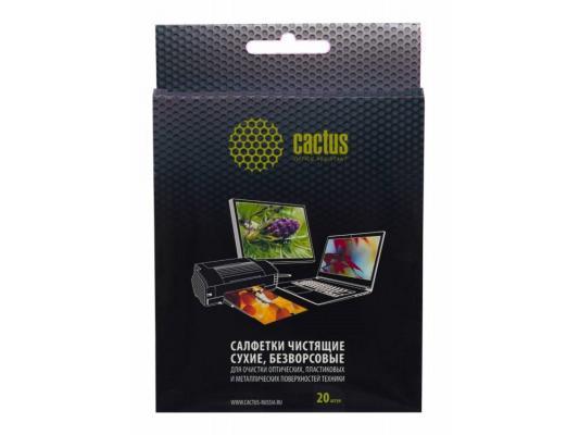 Чистящие салфетки Cactus CS-T1003 20 шт