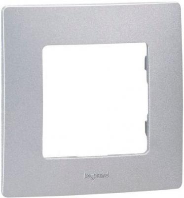 Купить Рамка Legrand Etika 1 пост алюминий 672551