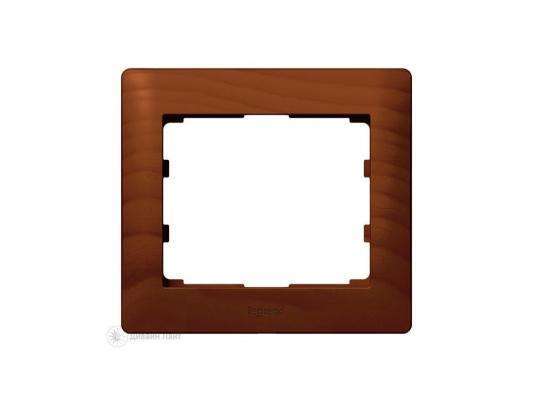 Рамка Legrand G.Life 1 пост коричневый 771201
