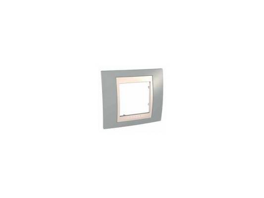 Рамка 1 пост серый/бежевый Schneider Electric MGU6.002.565