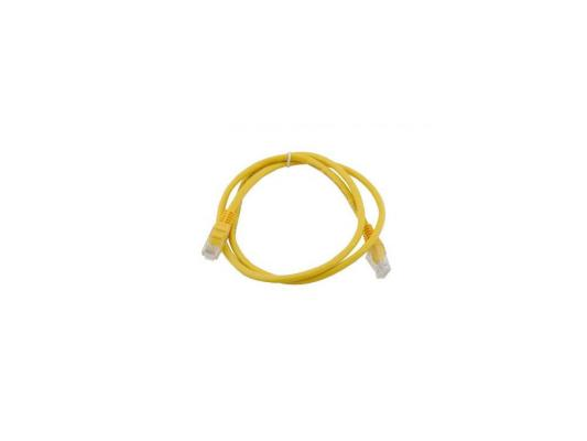 Патч-корд 5E категории UTP с RJ45 желтый 2м
