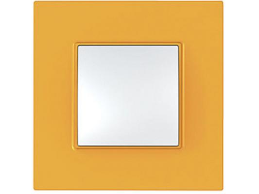 Рамка 1 пост оранжевый Schneider Electric Unica Quadro MGU4.702.29