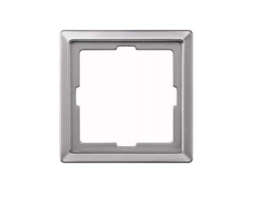 Рамка 1 пост алюминий Schneider Electric MTN481160