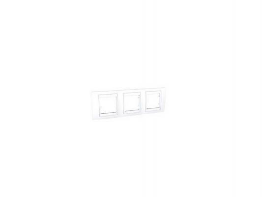 Рамка 3 пост белый Schneider Electric MGU6.006.18