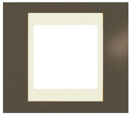 Рамка 1 пост какао/бежевый Schneider Electric MGU6.002.571 цена