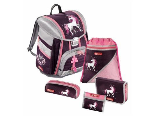 Ранец ортопедический Step by Step Touch Unicorn 16 л фиолетовый розовый 129090