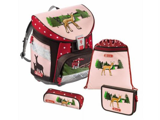 Ранец ортопедический Step by Step Light Lovely Deer 18 л розовый рисунок 129079