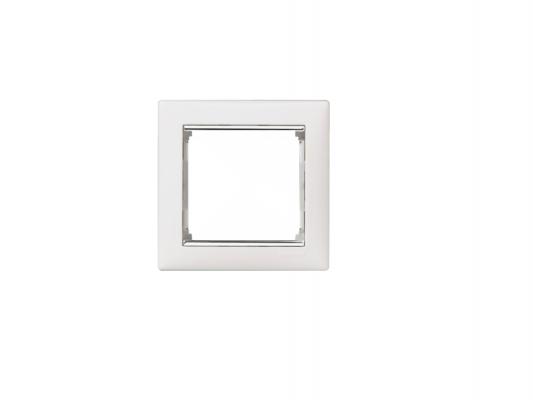 Рамка Legrand Valena 1 пост белый/серебристый 770491