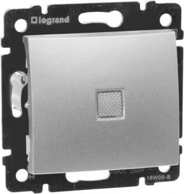 Выключатель Legrand 770110 10 A алюминий