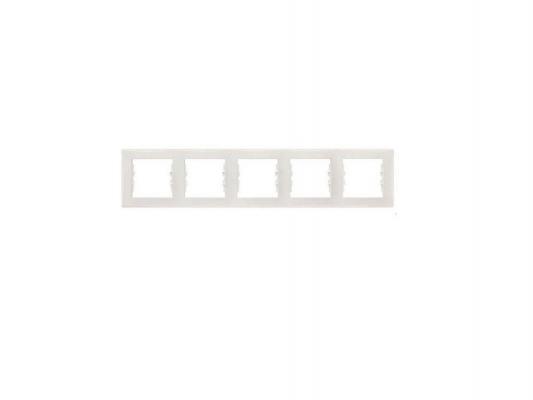 Рамка 5 пост бежевый Schneider Electric SDN5800947