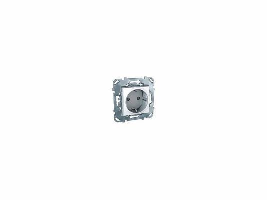 Розетка Schneider Electric электрическая с заземлением белый MGU5.036.18ZD  розетка schneider electric электрическая с заземлением белый mgu5 036 18zd