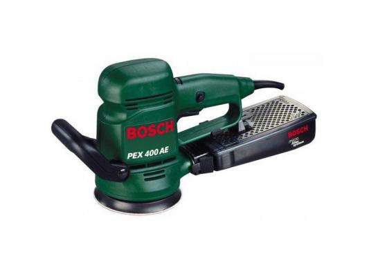 цена на Эксцентриковая шлифмашина Bosch PEX 400 AE 350Вт 125мм 06033A4020