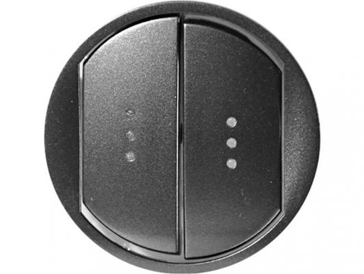 Клавиша Legrand Celiane для выключателя двойная IP44 CLN 67802 legrand клавиша galea life двойная для механизмов управления рольставнями кат 775 804 14 white