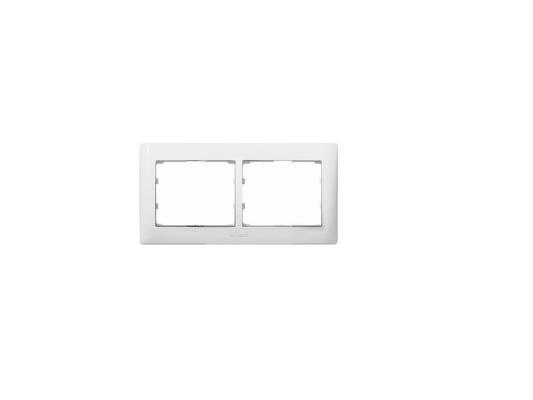 Рамка Legrand Galea Life 2 поста горизонтальная белый 771002