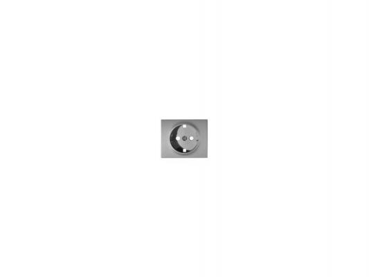 Лицевая панель Legrand Galea Life для розетки 2К+З алюминий 771320 legrand legrand galea life бел клавиша 2 ая c точечной подсветкой 771079