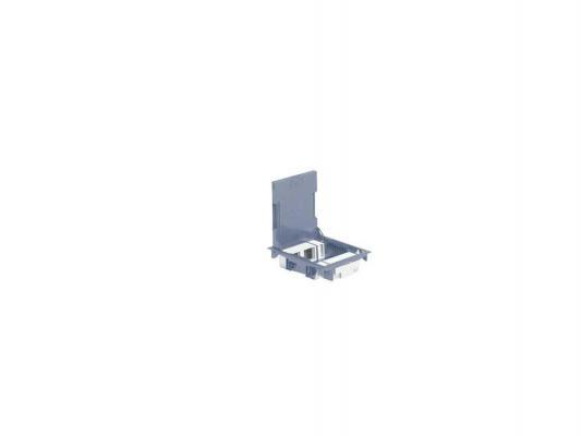 Коробка напольная Legrand 10 модулей глубина 65мм серый 89621