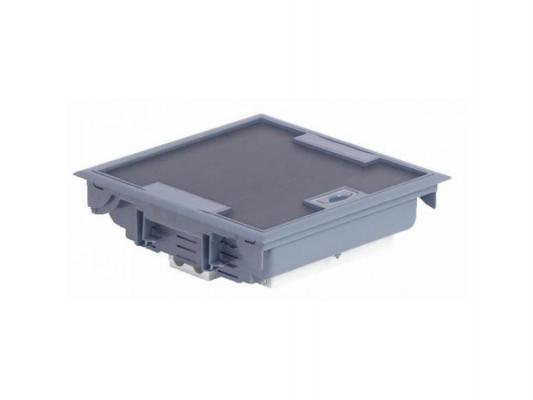 Коробка напольная Legrand 18 модулей глубина 75-105мм серый 89611