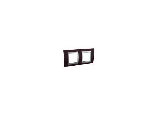 все цены на Рамка 2 пост венге/алюминий Schneider Electric Unica Top MGU66.004.0M3 онлайн