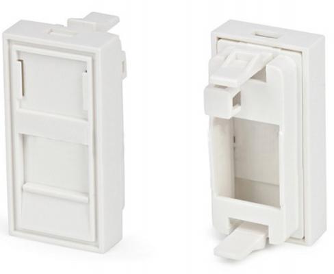 Панель лицевая Schneider Electric Actassi 1 модуль белый, 24 шт VDI88240