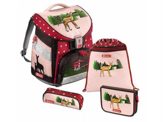 Ранец ортопедический Step by Step Comfort Lovely Deer 21 л розовый рисунок 129080