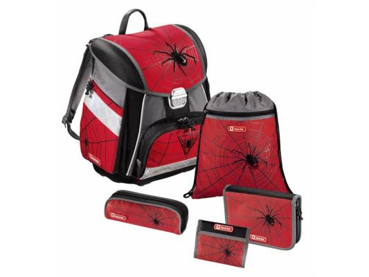 Ранец ортопедический Step by Step Black Widow Touch 20 л красный рисунок 129095
