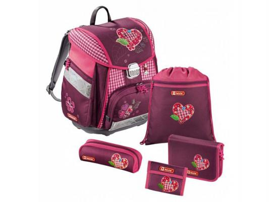 Ранец ортопедический Step by Step Touch Tweedy Hearts 20 л розовый рисунок 129086