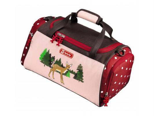 Сумка спортивная Step By Step Lovely Deer полиэстер розовый/рисунок 129082