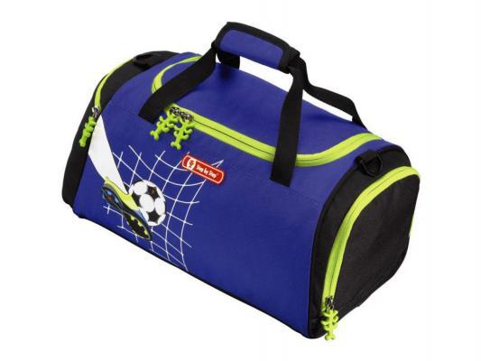 Сумка спортивная Step By Step Top Soccer полиэстер синий/рисунок 129109
