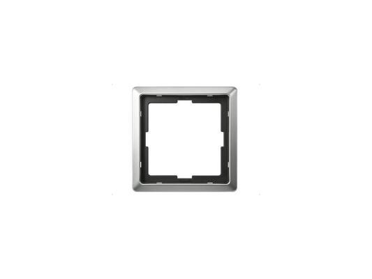 Рамка 1 пост сталь Schneider Electric MTN481146