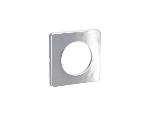 Рамка 1 пост алюминий/мартель Schneider Electric Odace S52P802K
