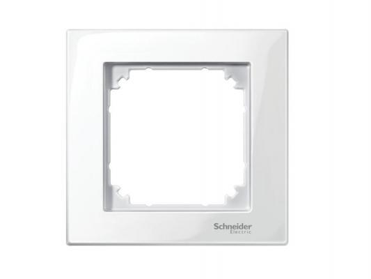 Рамка 1 пост белый Schneider Electric M-Plan MTN515119