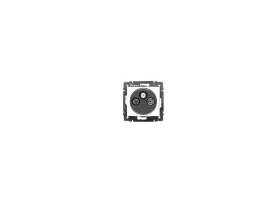 Розетка Legrand Valena TV-RD-SAT белый 774435  розетка legrand valena 2хrj11 белый 774439