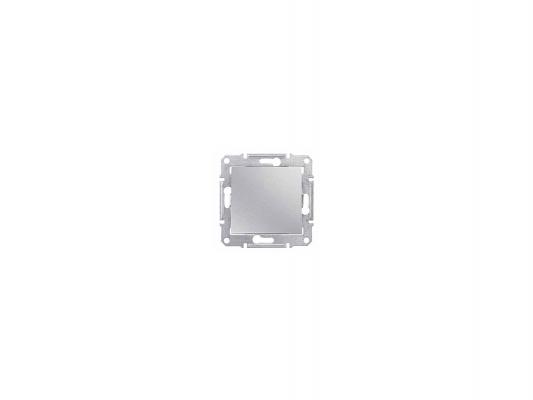 Переключатель Schneider Electric Sedna 1-клавишный алюминий SDN0400160