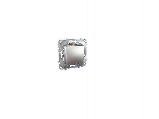 Выключатель Schneider Electric 1-клавишный алюминий MGU5.206.30ZD