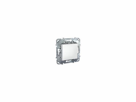 Переключатель Schneider Electric 1-клавишный белый MGU5.205.18ZD  переключатель schneider electric 1 клавишный проходной белый s52r205