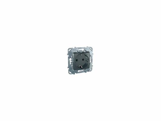 Розетка Schneider Electric электрическая с защитными шторками MGU5.037.12ZD
