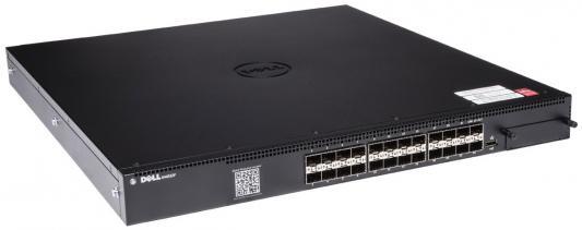 Коммутатор Dell N4032F 24 порта SFP 10GB 210-ABVT/003 адаптер dell x710 intel dual port 10gb sfp 540 bbiv
