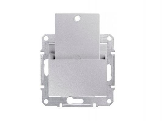 Выключатель Schneider Electric Sedna  карточный алюминий SDN1900160