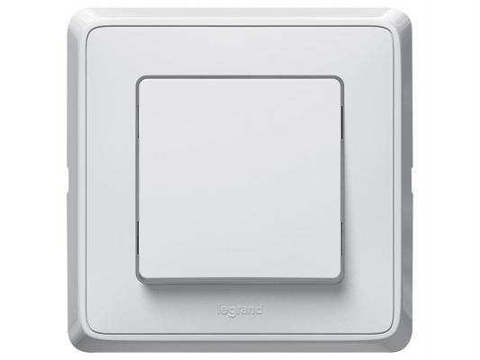 Выключатель Legrand Cariva 1-клавишный 16А белый 773600