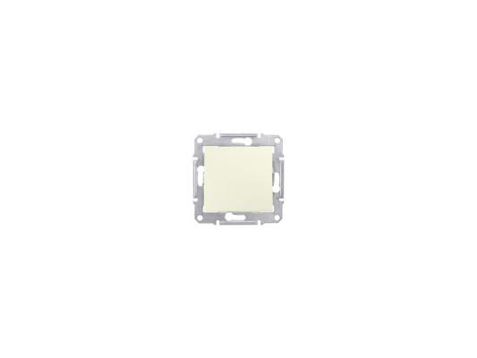 Переключатель Schneider Electric Sedna 1-клавишный бежевый SDN0400147 сетевой разветвитель с з 2 гнезда s ges2 16o