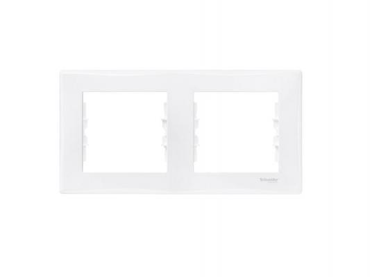 Рамка 2 пост белый Schneider Electric Sedna SDN5800321