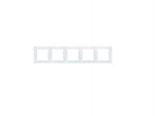 Рамка 5 пост белый Schneider Electric Sedna SDN5800921